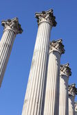 Ruins of a Roman temple — Stock Photo