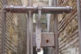 Pestillo de la puerta — Foto de Stock