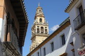 Bell tower of the mosque in Cordoba — Stock Photo
