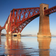 Stock Photo: Forth Rail Bridge, South Queensferry, Scotland