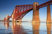 Her Schiene Brücke, South Queensferry, Schottland — Stockfoto