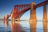 Forth Rail Bridge, South Queensferry, Scotland — Stock Photo