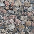 Background of old stone wall texture — Stock Photo