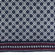 Stock Photo: Scandinavian wool sweater pattern, texture
