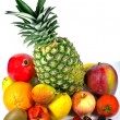 Stock Photo: Twelve rounded fruits