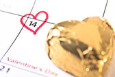Valentine's Day Reminder — Stock Photo