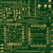 Stock Vector: Circuit Board