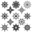Various Ornate Design Elements - Stock Vector