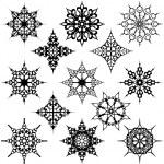 Various Ornate Design Elements — Stock Vector