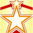 Star Background - Stock Vector