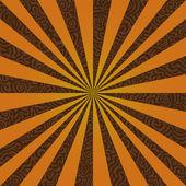 Burst on a Swirly Background — Stock Vector