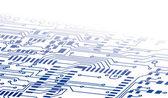 Circuit Board Background Fade — Stock Vector