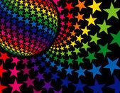 Super Disco Background — Stock Vector