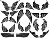 Angel Wings — Stock Vector