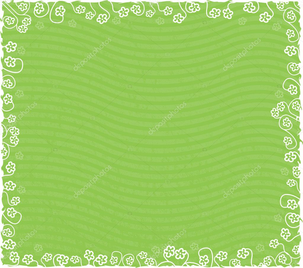 Spring Floral Background - Easily removed stripes, if you likeSS 2331649SS 3448839 jpg — Stock Vector #8995982