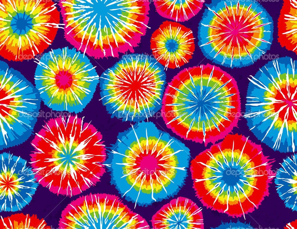 Red tie dye background