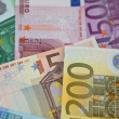 Royalty-Free Stock Photo: Euro money banknotes