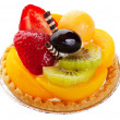 Asian Fruit Tart — Stock Photo