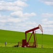 Red Pumpjack — Stock Photo