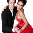 Ballroom Dancing Couple — Stock fotografie #8926885