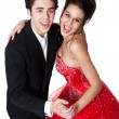 Foto Stock: Ballroom Dancing Couple