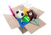 Krabice smetí — Stock fotografie