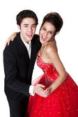 Ballroom Dancing Couple — Stock Photo