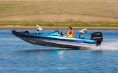Rychlý člun — Stock fotografie