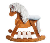 Childhood Rocking Horse — Stock Photo