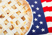 Americana come la torta di mele — Foto Stock