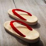 sandalias japonesas — Foto de Stock