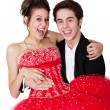 Prom Couple — Stock Photo #9236286