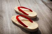 Japanese Sandals — Stock Photo