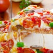 Stock Photo: PizzDeluxe