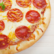 Pepperoni Pizza — Stock Photo #9393107