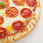 Pepperoni Pizza — Stock Photo #9393107