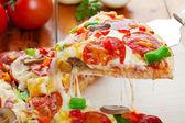 Pizza Deluxe — Stock Photo