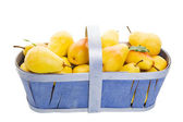 Basket of Pears — Stock Photo