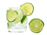 Mojito and Lime — Stock Photo
