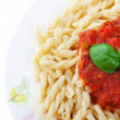 Gemelli Pasta — Stock Photo