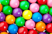 Gumball Background — Stock Photo