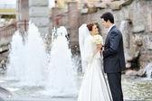 Wedding couple — Photo