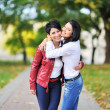 Portrait Of Mother And Daughter In Park — Stock Photo #10225395
