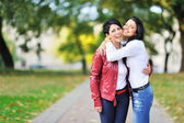 Mother and daughter having a good time together — Stock Photo