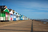 Beach huts Southwold Suffolk England — Stock Photo