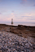 Penmon lighthouse, Isle of Anglesey, Wales UK — Stock Photo