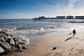 Southwold Beach, Suffolk England — Stock Photo
