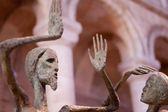イーリー大聖堂の彫像 — ストック写真