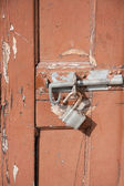 Broken lock — Stock Photo