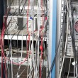 Cables in laboratory — Stock Photo